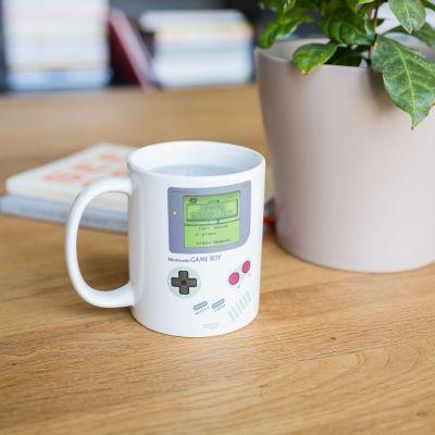 Kopper og glas - Game Boy krus med Temperatursensor