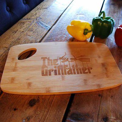 Gaver til bror - The Grillfather Skærebræt
