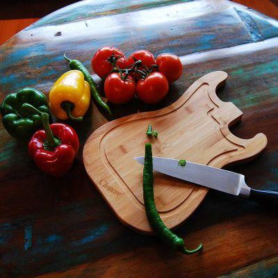 Cool køkkengrej - Guitar Skærebræt