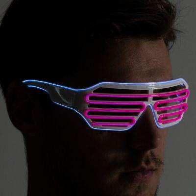Sjove gaver - Briller med farvede lysdioder