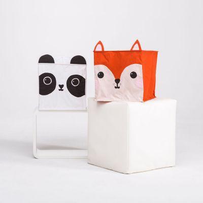 Deko - Ræv og Panda lampeskærm