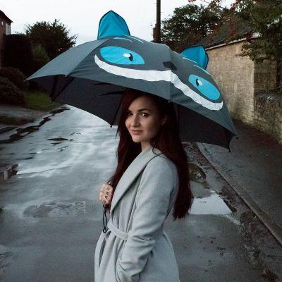 Afskedsgaver - Katte-paraply