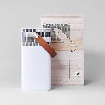 Nyt - aGlow Højtaler-lampe med Bluetooth