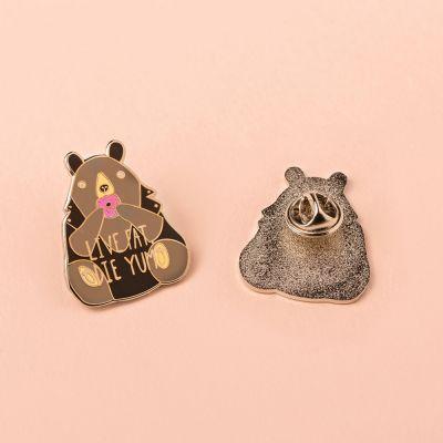 Homewear & accessoires - Tyk bjørn pin