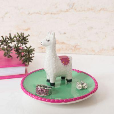 Badeværelse - Lama Smykkeskål