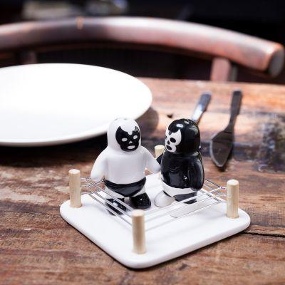 Cool køkkengrej - Lucha Libre Salt & Peberbøsser