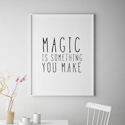 Plakat - Magic Plakat af MottosPrint