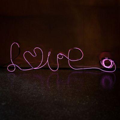 20 års fødselsdagsgave - DIY Neon lampe