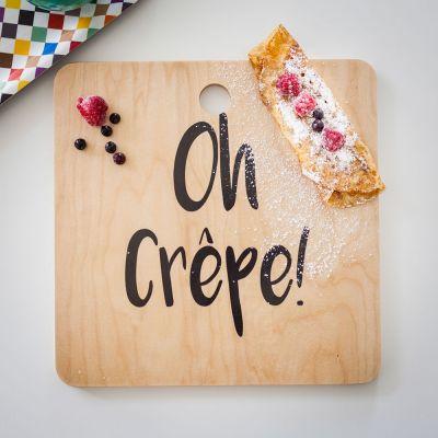 Sjove gaver - Oh Crêpe Skærebræt