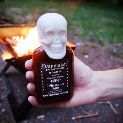 Gaver til bror - Painmaker Hardcore BBQ Krydderisauce