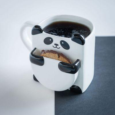 Kopper og glas - Pandakrus med kiksholder