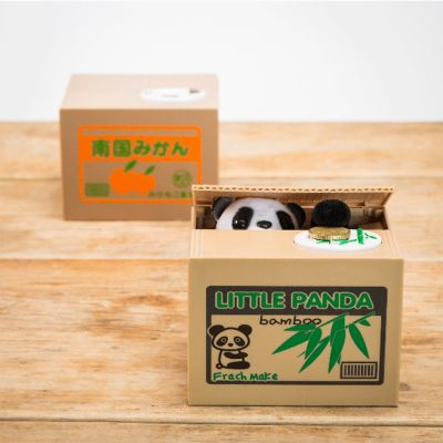 Sjov og spas - Panda sparebøsse