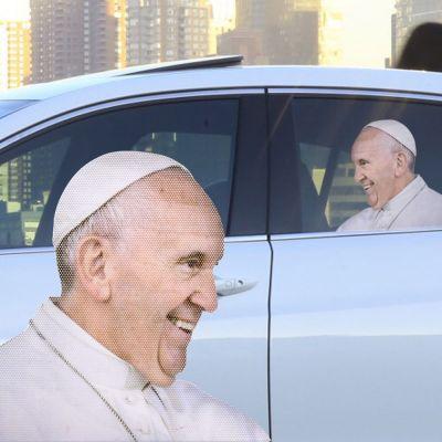 Nyt - Bil klistermærke Paven
