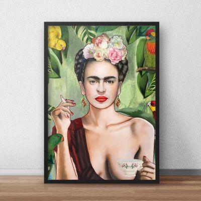 Nyt - Frida plakat af Nettsch
