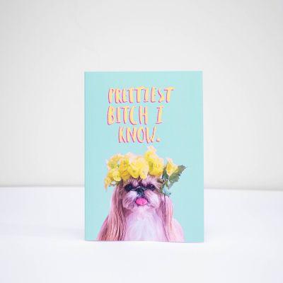 Kort - Gratulationskort Prettiest Bitch