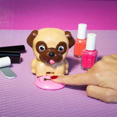 Badeværelse - Neglelaktørrende hund