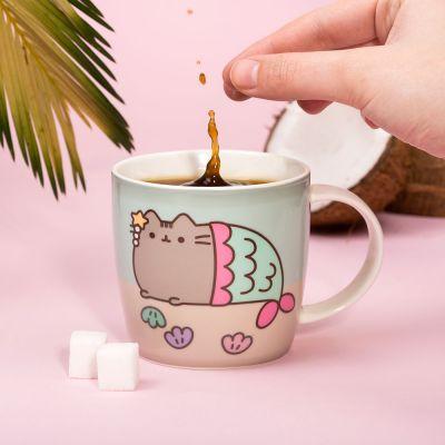 Gaver til børn - Pusheen varme sensitiv kop
