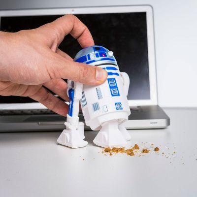 Sjov på kontoret - R2D2 Skrivebords-støvsuger