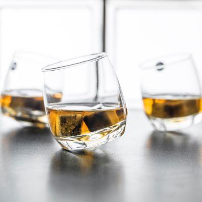 Gaver til par - Rocking Whisky - 6 stk. vippende whiskyglas