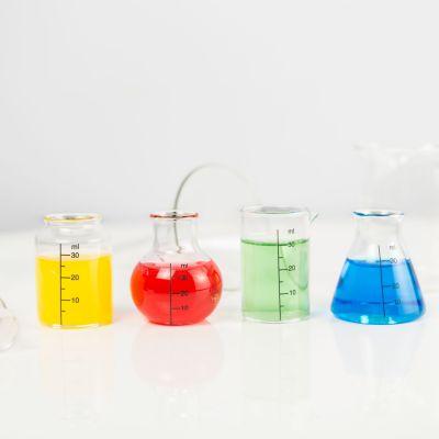 Kopper og glas - Barbuzzo Laboratorie-Shotglas - Sæt med 4