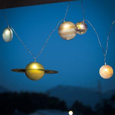 Gaver til børn - Solsystem belysning