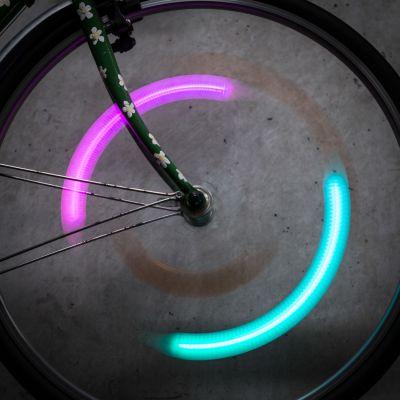 Outdoor & sport - SpokeLit Cykellys til egerne m. farveskift