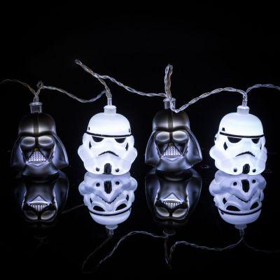 Belysning - Star Wars Darth Vader & Stormtrooper Lyskæde