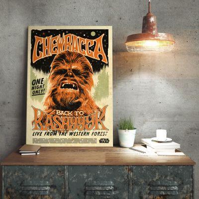 Plakat - Star Wars Metalplakat - Chewbacca