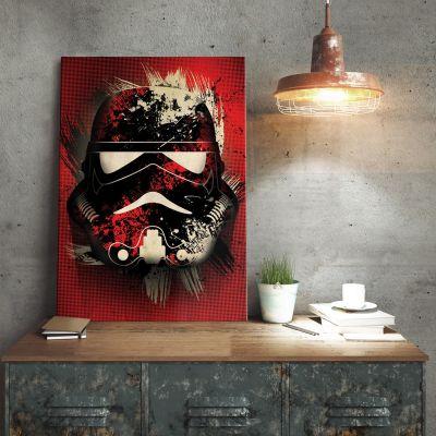Gave til far - Star Wars Metalplakat - Stormtrooper Splatter