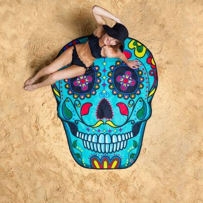 Badeværelse - Sugar Skull Strandhåndklæde