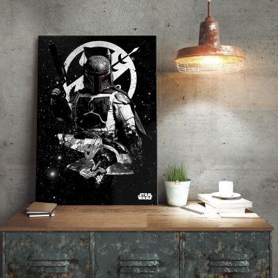 Plakat - Star Wars Metalplakat - Boba Fett Slave 1