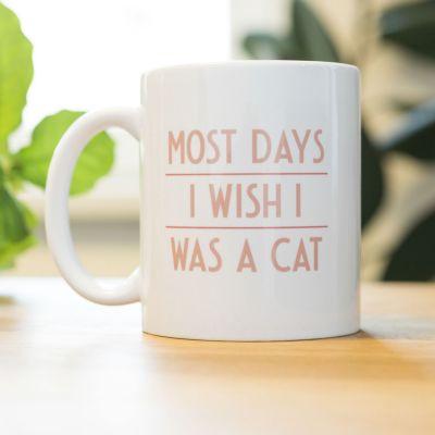 Kopper og glas - Most Days I Wish ... Krus
