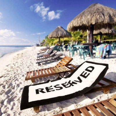 Strand & hav - Badehåndklæde Reserved