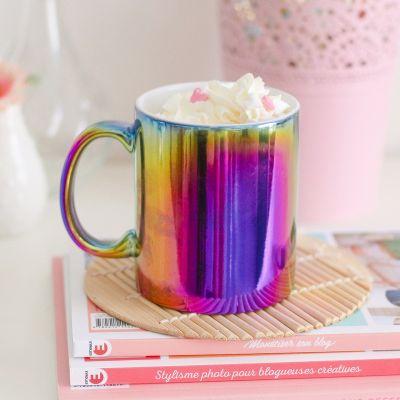 Kopper og glas - Farverigt krus