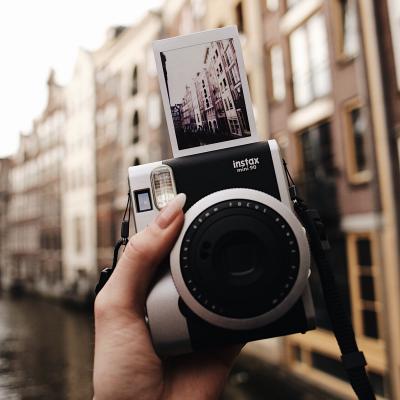 TV, Video & Foto - Fuji Instax Mini 90 polaroidkamera