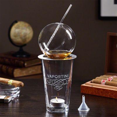 Kopper og glas - Vaportini - til inhalering af alkohol
