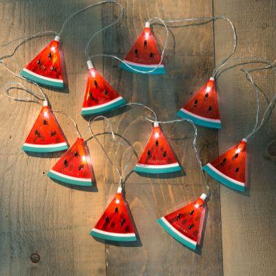 Gaver til børn - Vandmelon lyskæde