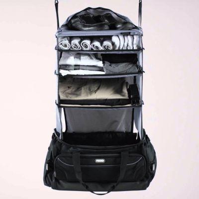 Tilbud - Weekender Rejsetaske med indbygget garderobe