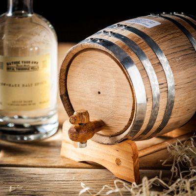 Retro ting - Gør det selv - Whisky sæt med egetræfad