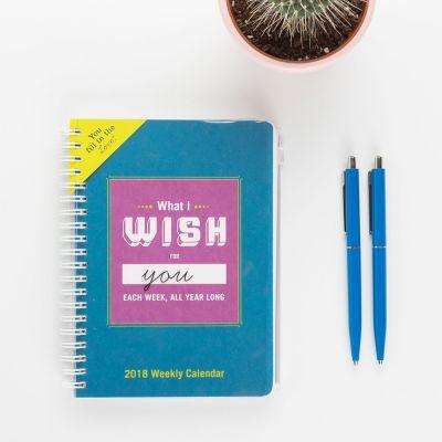 Romantiske gaver - Ugekalender What I Wish For You Each Week