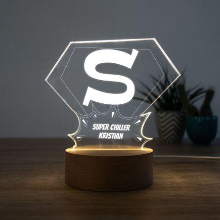 LED-lampe Superman