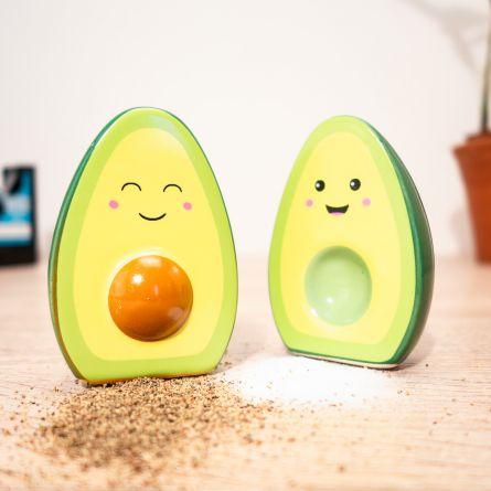 Happy Avocado Salt- og peberbøsse