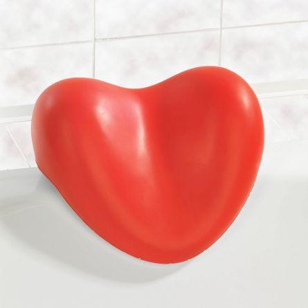 Hjertepude til badekaret