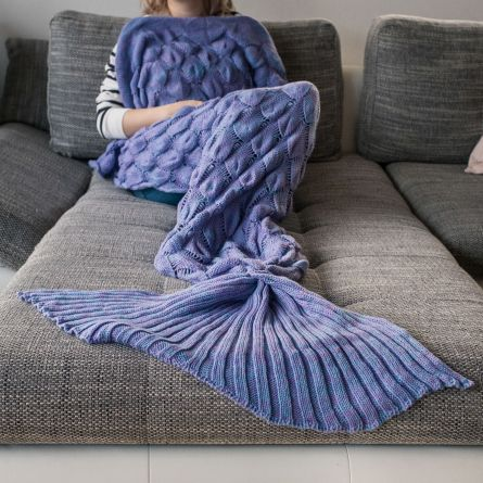 Havfrue tæppe