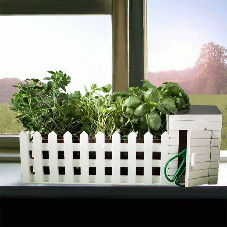 En mini-urtehave til indendørs brug