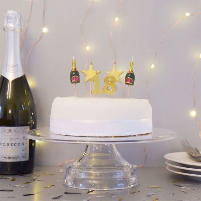 18 års fødselsdagsgave - Fødselsdagslys til en 18, 21 eller 30 års fødselsdag