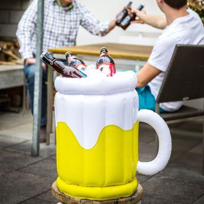 Oppustelig øl køler