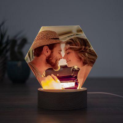 Nyt - LED-lampe med foto