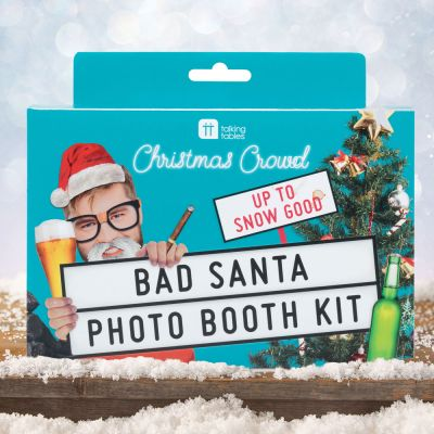 Julegaver til ham - Bad Santa Foto Booth kit til jul