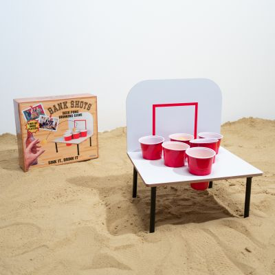 Ølgaver - Kæmpe Beer Pong spil